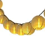 [20 LED, 4.35M Guirlande Solaire]Mpow Guirlande lumineuse solaire, 20 LED boules, Longueur 4.35M, Eclairage solaires pour Noël fête Halloween Mariage,Anniversaire ...