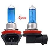 2X XENON HID H11 AMPOULE LAMPE 5000K 55W POUR VOITURE