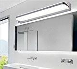 7W Miroir En Acier Inoxydable Lampe 35 SMD Blanc Froid Appliques Miroir Avant Lampe AC 90-265V 770LM Maquillage Lampe