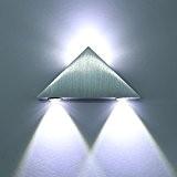 Applique murale interieur LED Lampe de Mur Lampe LED triangle lampe pour le couloir lampe à économie Conçu en aluminium ...