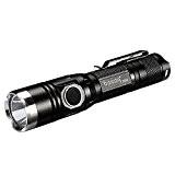 Baaaq T850 Lampe Torche Tactique Militaire LED Cree XPL V5 1060 Lumen USB lampe de poche rechargeable incluse 3400 mAh ...