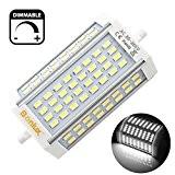 BonluxLED R7S 30 W Dimmable Ampoule À Double Extrémité J Type J118 LED Projecteur avec 300 W R7S Halogène Ampoule ...