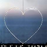 Coeur lumineux 70cm