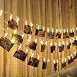 FAPPY 2.2M photo LED chaîne de lumières lampe flash décoration clip lampe de mur de photo créative, anniversaire, Saint-Valentin, les ...