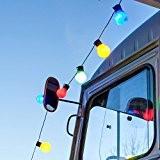 Guirlande Lumineuse Guinguette avec 30 Boules LED Multicolores pour Intérieur / Extérieur de Lights4fun