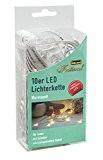 Idena 31116 Guirlande lumineuse LED à 10 micro-ampoules Usage intérieur Éclairage blanc chaud Longueur 2,40cm