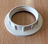 ISO contre bague pour douille de lampe E27, sous Support de Bague à Visser, culot de lampe pour le verre