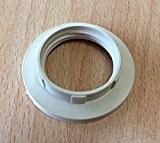 ISO Lampe de contre bague pour douille E14, sous Support de Bague à Visser, culot de lampe pour le verre