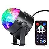 Lampe de Scène lumière de noël à Télécommande LED InnooLight Boule de Disco Eclairage Soirée Contrôle Sonore pour discothèque, fête, ...