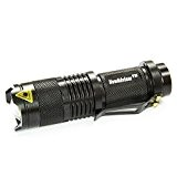 Lampe Torche, NowAdvisor Mini 7W 300LM CREE lampe de poche LED Mise au point réglable Zoom Light
