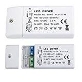 Liqoo® 0.5A 6W Transformateur LED Transfo DC 12V Driver Alimentation AC 110V - 240V à DC 12V Convertisseur Pour Ampoule ...
