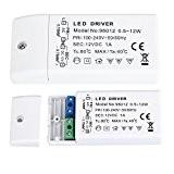 Liqoo® 1A 12W Transformateur LED Transfo DC 12V Driver Alimentation AC 110V - 240V à DC 12V Convertisseur Pour Ampoule ...