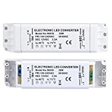 Liqoo® 2.5A 30W Transformateur LED Transfo DC 12V Driver Alimentation AC 110V - 240V à DC 12V Convertisseur Pour Ampoule ...