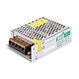 Liqoo 5A 60W Transformateur LED Transfo DC 12V Driver Alimentation AC 110V - 260V à DC 12V Convertisseur Pour Ampoule ...