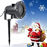 LIVHÒ | Projecteur lumière Noël LED 4W - Projection dynamique avec beaucoup de dessins. Phare pour jardin, décoration interne et ...