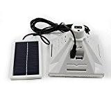 LUFA 25 Leds Télécommande Type de Split rechargeable à l'énergie solaire d'éclairage Lumière blanc&120*120mm