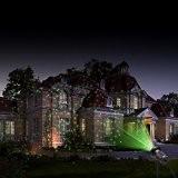 MICTUNING Projecteur Ciel Etoile Vert et Rouge Extérieur lumière de Jardin et Noël pour Soirée/Bar/Club/Fête/Anniversaire