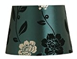 Oaks Lighting Abat-jour tambour Bleu 30 cm