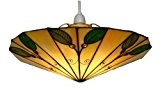 Oaks Lighting Suspension Tiffany Leaf