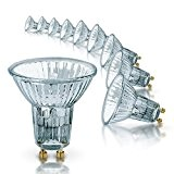 Osram 64824FL Lot de 10 ampoules halogènes HALOPAR16 avec réflecteur et culot GU10, 50 W, 35°, 230 V