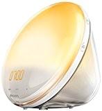 Philips Eveil Lumière - HF3531/01 - Radio réveil lumineux avec fonction veilleuse et guide de nuit et port USB