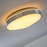 Plafonnier rond pour salle de bain LED 3000 Kelvin - 900 Lumen - IP 44