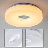 Plafonnier rond pour salle de bain LED Loris 3000 Kelvin - 880 Lumen - IP 44