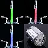 PRO lIGHT-jet d'eau élégant lumineux coloré lumière robinet LED lumière (plastique, finition chrome)