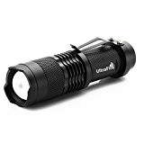 Sidiou Group 7w 300lm Mini LED Cree torche lampe réglable Lumière de mise au point Zoom