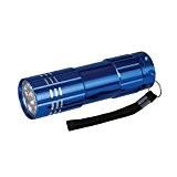 Silverline 226491 Torche à Led en aluminium