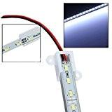 SODIAL(R)50CM 5630 Jour SMD 36 LED Blanc Aluminium bande rigide Bar Lampe