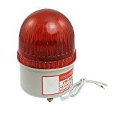 SODIAL(R) AC 220V 15W Rouge Feu Industrielle Tour Signal Flash Alerte Lampe