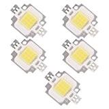 TOOGOO(R)5 X LED MODULE DIODE LAMPE BULB BLANC NATURE 10W 20000K 9-12V 900LM
