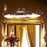 TYDXSD Européenne-LED miroir lampe vintage américain miroir salle de bain salle de bain miroir armoire lumière projecteurs étanches brouillard 500 ...