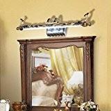 TYDXSD Miroir européen lampe LED simplicité pastorale American vintage imperméable à l'eau et antibuée miroir lumineux de salle de bains ...