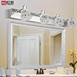 TYDXSD Miroir Lampes led blanc lampe salle de bain de style européen inox miroir miroir salle de bains minimaliste moderne ...