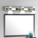 TYDXSD Moderne et simple cristal LED miroir lumières étanches antibuée salle de bain salle de bain miroir de courtoisie éclairage ...