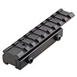 VERY100 Tactique Base Montage 11mm à 20mm Etendu Queue D'aronde Picatinny W / Conversion de Rail