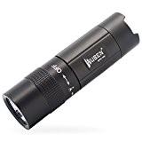 WUBEN E346 Lampe de Poche LED Lampe torche USB Rechargeable Aérospace Alliage Aluminium extérieure Etanche IPX7 Mini Flashlight Belle (Titane)
