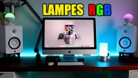 Lampes de chevet/bureau high tech : Aukey LED RGB