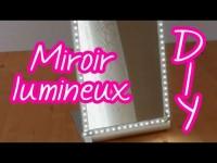 Miroir lumineux pour se maquiller à la lumière du jour